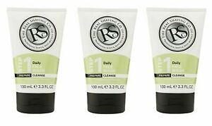 3 PACK - The Real Shaving Company Daily Face Wash 100ml - SAME DAY DISPATCH