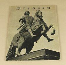 Buch: Ein Gang durch DRESDEN und Umgebung - mit 39 Fotoabbildungen - um 1930