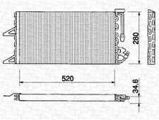 Condensatore climatizzatore per FIAT Punto (176)
