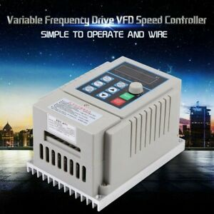 5A Variable Frequency Drive Heat Resistant. Flame Retardant PWM Brand New