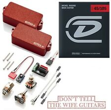 EMG PX RED P BASS ACTIVE PRECISION REPLACEMENT PICKUP POTS & WIRING ( STRINGS )