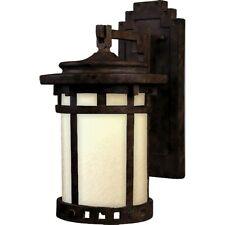 Maxim Santa Barbara Dark Sky 1-Lt Outdoor Wall Lantern Sienna-3144Mose