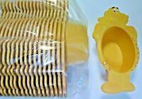 Lot of 20 Kraft Macaroni and cheese Dinosaur Bowl plastic kids dinnerware