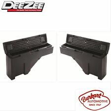 Dee Zee DZ95P Specialty Series Wheel Well Tool Box Set of 2 For 94-10 Ram 1500