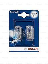 Bosch 1987301079 12V W21/5W W3x16q 21/5W Set of 2 T20 Wedge Bulbs