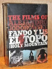 The Films of Alejandro Jodorowsky (DVD, 2007, 6-Disc Set) collection of movies