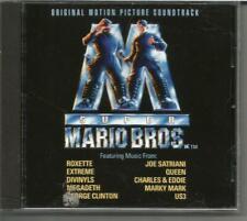 Super Mario Bros. soundtrack CD Megadeth Queen Marky Mark Divinyls US3 +