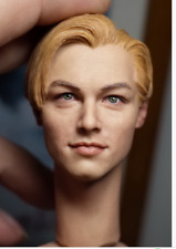 TSCP 1/6 Male Head Carvings Beautiful Males Small Plums Leonardo DiCaprio Toys