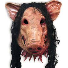 Movie Saw Pig Creepy Mask Saw Cosplay Mask Horror Halloween Cosplay Party  Gift