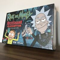 Rick and Morty the Rickshank Rickdemption Deck-Building Game - Brand New SEALED