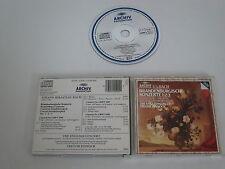 BACH/BRANDENBURGISCHE KONZERTE, PINNOCK(ARCHIV PRODUKTION 410 500-2) CD ALBUM