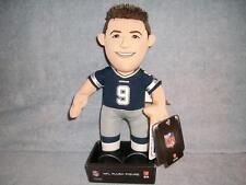 Tony Romo 9 Dallas Cowboys Blue Jersey Doll NFL Plush Bleacher Creature 2015 New