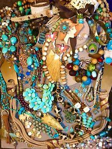60 piece Vintage Modern Designer Jewelry Lot JOOLZHAYWORTH Lucky Brand