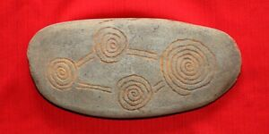 Aboriginal Message Stone,  Larger than mid sized.