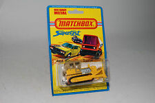 Matchbox Superfast #64 Caterpillar Bulldozer Trattore, Nuovo in Blisterpack
