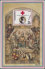 PARAGUAY, 1990 Rotes Kreuz Block 468 **, Muestra Aufdruck, (19436)