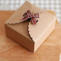 Mini 10X Paper Gift Favour Party Candy Box Bakery Cookies Packaging Wedding Gift