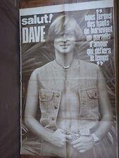 SALUT LES COPAINS (genre PODIUM) ANNEES 70 POSTER SEUL (Dave)