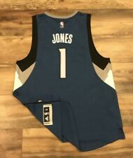 Minnesota Timberwolves Tyus Jones #1 Adidas NBA Basketball Rookie Jersey Mens XL