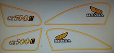 HONDA CX500C CUSTOM FULL PAINTWORK DECAL KIT