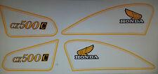 HONDA CX500C CUSTOM MODEL  FULL PAINTWORK DECAL KIT