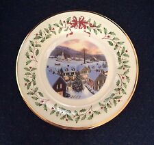 Lenox 2012 Annual Holiday Christmas Collector Plate New With Tag Excellent