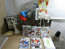 wii bundle console contollers  job lot and games.