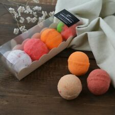 100% Natural Handmade Bath Bomb Delicious Strawberry Temptation Scent 3 pcs