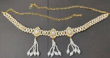 Gold Plated Indian Saree Hip Waist Belly Kamarband Chain UK SELLER
