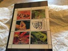 Republic Karakalpakia Mint Stamp Miniature Sheet