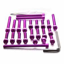 Pro-Bolt Aluminium Engine Bolt Kit - Purple EYA056P Yamaha YZF-R125 08+