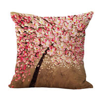 Vintage Geometric Cotton Linen Cushion Cover Throw Pillow Case Home Decoration