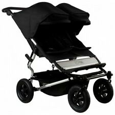 Mountain Buggy 2015 Evolution Duet Double Stroller - Black - New! Free Shipping