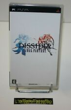 ++ jeu sony PSP dissidia final fantasy NEUF sous blister ++