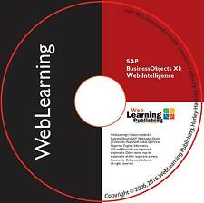 BusinessObjects XI WebIntelligence Report Design Self-Study eLearning