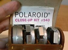 Vintage Polaroid Land Camera Close Up Lens Kit #540