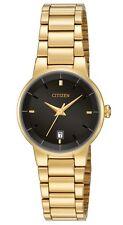 Citizen EU6012-58E elegant Ladies Gold Watch WR50m NEW in BOX RRP $295.00