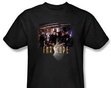 Farscape Tv Series Complete Main Cast Black Large T-Shirt New Unworn