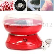 Electirc Candyfloss Making Machine Home Cotton Sugar Candy Floss Maker Party Red