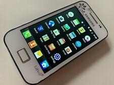 Samsung Galaxy Ace La Fleur GT-S5830 - Ceramic White (Unlocked)  (GRADE B)