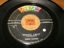 VINCE CASTRO - BONGO TWIST - YOU'RE MY GIRL - LISTEN - ROCK N ROLL