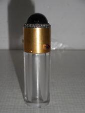 Flacon a sels en or, diamants et grenats.XIX°.Parfum,de.Poinçon tête d'aigle.
