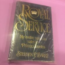 PRINCESS DIANA - ROYAL SERVICE 12 YEARS AS VALET TO CHARLES book STEPHEN BARRY