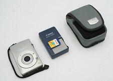 Canon PowerShot Digital ELPH SD750 Digital Camera   Silver 7.1MP   Bundle Tested