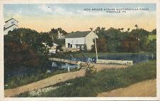 Annville PA * Iron Bridge ca. 1915 * Frosh-Soph Tug of War *Lebanon Co. College?
