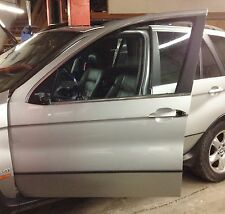 BMW 2000-06 E53 X5 FRONT DOOR SHELL.DRIVER SIDE. SILVER