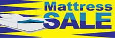 2ft x 6ft Mattress Sale (yb) Vinyl Banner 2'x6'  -Alt to Banner Flag  (52)