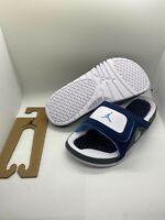 NIB Nike Air Jordan Hydro XIII 13 Flint Blue Slides Mens Sz 10 NEW DS Sandals