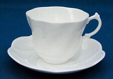 SALISBURY - MILFORD PATTERN - FOOTED CUP & SAUER - BONE CHINA - ENGLAND