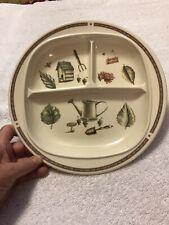 Free Shipping! Eurita Pfalzcraft Naturewood Child's Divided Plate